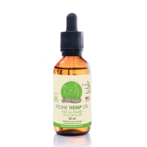 BETRU CATCHIES FELINE HEMP OIL 30ml-CBD For Pets-fourseasons-trade