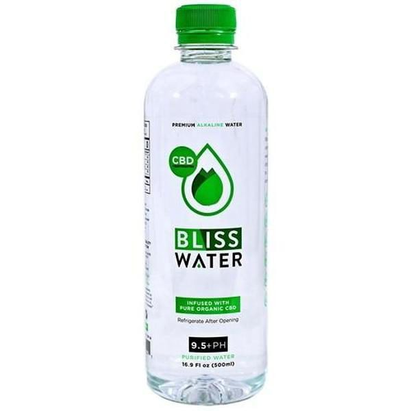 Bliss CBD Akaline Water