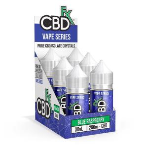 CBDFX CBD Vape Juice 250mg 30ml-CBD Vape-fourseasons-trade