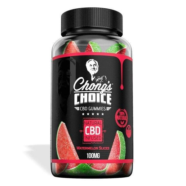 Diamond CBD – Chong's Choice Gummies – CBD Infused Watermelons – 100mg-CBD Gummies-fourseasons-trade