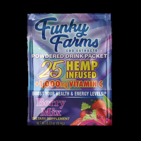 Funky Farm CBD Powdered Drink Packet-CBD Topicals-fourseasons-trade