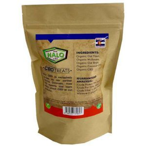 HALO CBD DOG TREAT 4MG / BISCUIT 20 BISCUITS PER PACK-CBD For Pets-fourseasons-trade