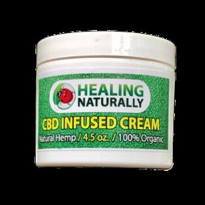 Healing Naturally CBD Cream 4.5oz