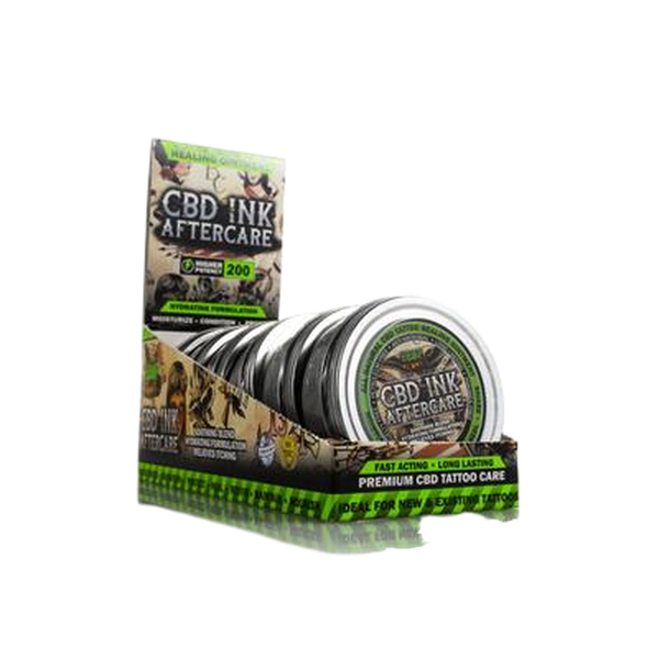 Hemp Bomb 1oz and 4oz Tattoo Cream Ointment - 1 OZ and 4 OZ-CBD Topicals-fourseasons-trade