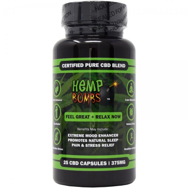 Hemp Bomb CBD Capsules-CBD Capsules-fourseasons-trade