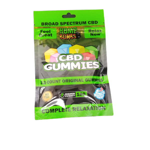Hemp Bomb CBD Original Gummies-CBD Gummies-fourseasons-trade