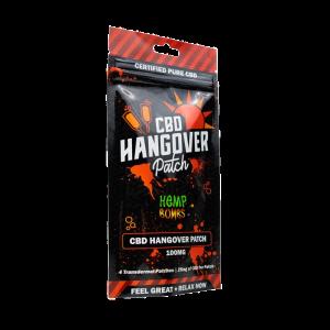 Hemp Bombs Hangover Patches - 25mg