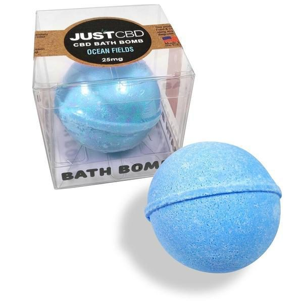 Just CBD Bath Bombs - Deep Spices CBD Bath Bomb-CBD Topicals-fourseasons-trade