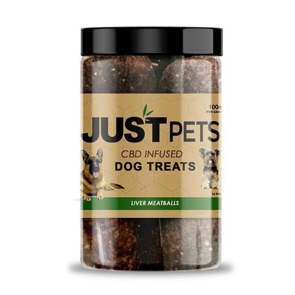 JUST CBD Pets JustPets Dog Treats JustPets Cat Treats