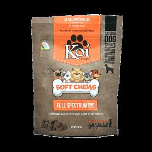 KOI CBD Full Spectrum Soft Chews-CBD For Pets-fourseasons-trade