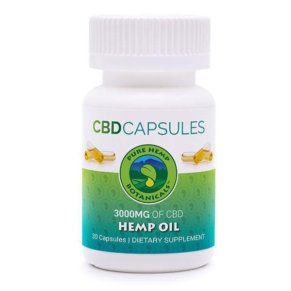 "Pure Hemp Botanicals ""CBD CAPSULES""-CBD Capsules-fourseasons-trade"