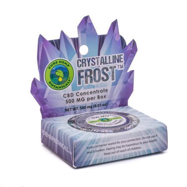 "Pure Hemp Botanicles ""Crystalline Frost""-CBD Topicals-fourseasons-trade"