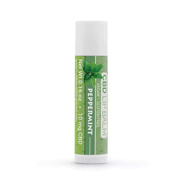 Pure Hemp Lip Balm Berry, Natural and Peppermint Flavors-CBD Topicals-fourseasons-trade