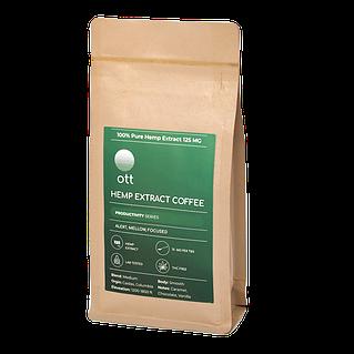 OTT CBD PLUS COFFEE 125MG CBD - 4oz Per Bag