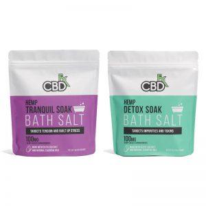 CBD FX - HEMP CBD BATH SALTS - 100mg