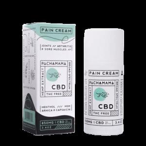 PACHAMAMA CBD HEMP PAIN RELIEF CREAM 850mg - 3.4oz
