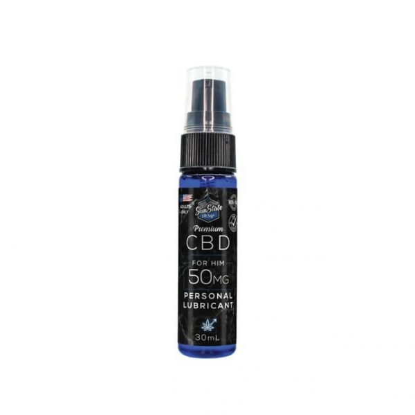 SUN STATE CBD PERSONAL LUBE MALE 50mg - 1oz