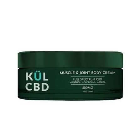 KUL CBD MUSCLE & JOINT CREAM - 400MG